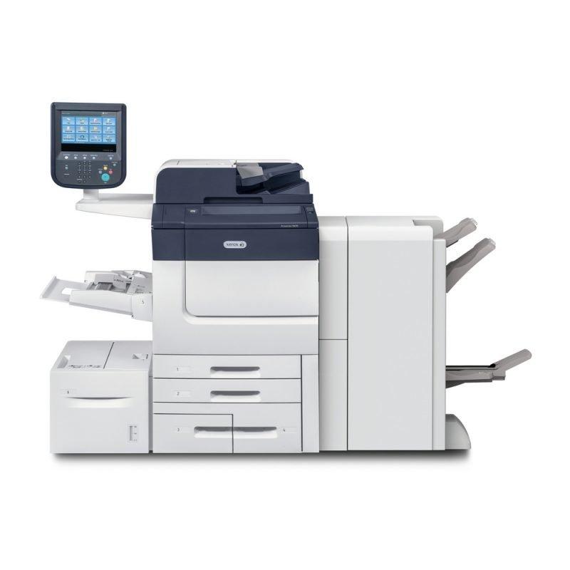 Xerox Primalink C9065 C9070 con Finisher e Cassetto aggiuntivo