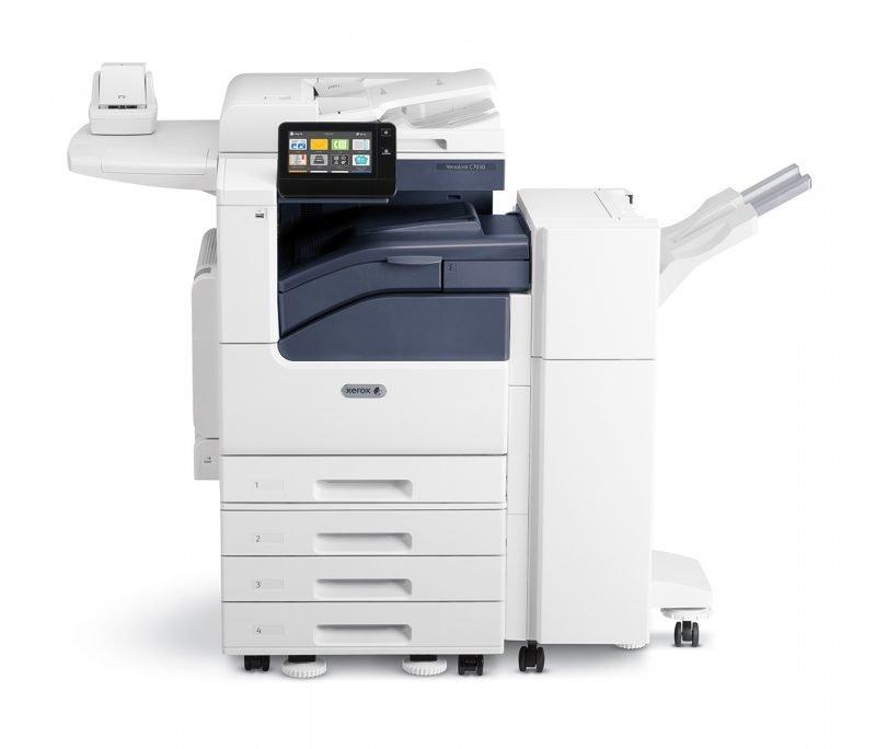 Xerox Versalink C7020 C7025 C7030 con finisher